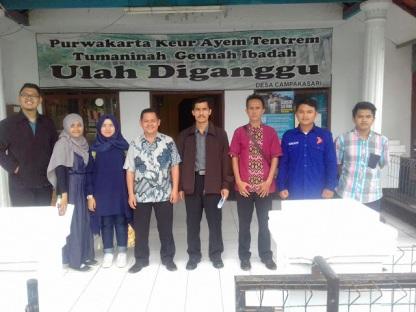 Observasi oleh perwakilan kelompok ke Desa Campakasari Kec Campaka Kab Purwakarta